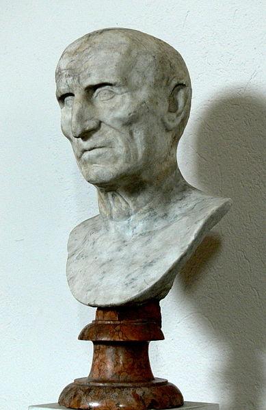 Busto di Galba - Museo delle Antichità al Palazzo Reale di Stoccolma.