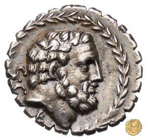 358/1 - denario M. Iuventius Laterensis 83BC (Roma)