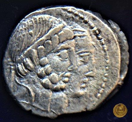 346/1 - denario C. Marcius Censorinus 88BC (Roma)