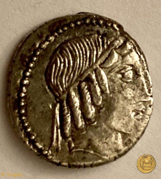 346/2 - denario C. Marcius Censorinus 88BC (Roma)