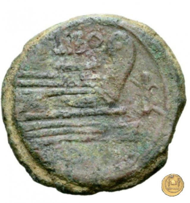 215/2 - asse Q. Marcius Libo 148BC (Roma)