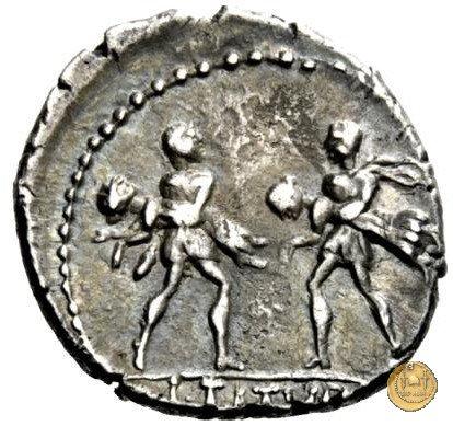 344/1 - denario L. Titurius Sabinus 89a.C. (Roma)