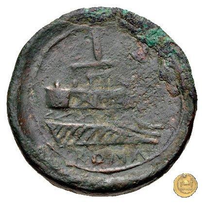 106/4 - asse 208BC (Etruria ?)