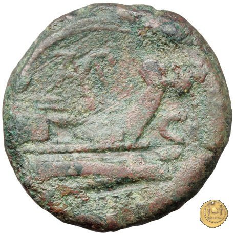 133/5 - semisse Cn. Baebius Tamphilus 194-190a.C. (Roma)