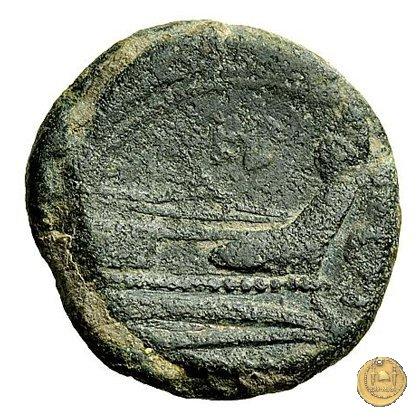 134/3 - semisse L. Plautius Hypsaeus 194-190BC (Roma)