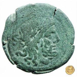 173/2 - semisse C. Cluvius Saxula 169-158a.C. (Roma)