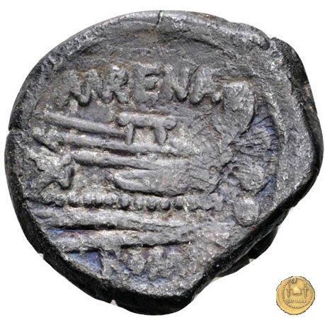 186/4 - quadrante L. Licinius Murena 169-158a.C. (Roma)