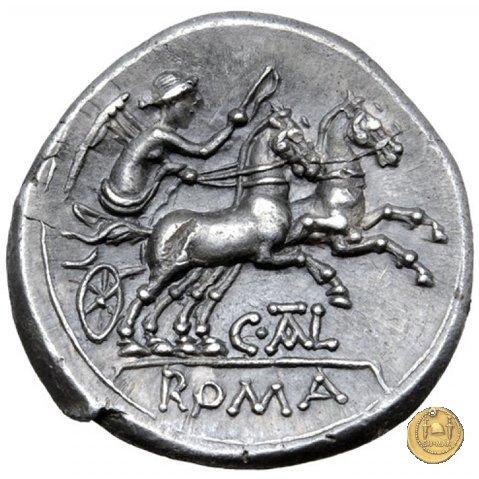202/1 - denario C. Iuventius Thalna 154BC (Roma)