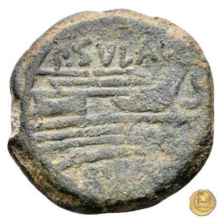 205/3 - semisse P. Cornelius Sulla 151a.C. (Roma)