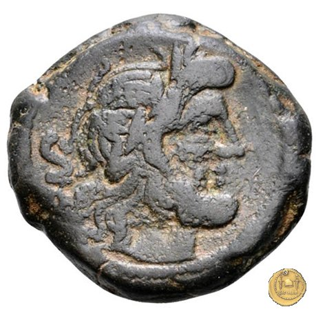 206/3 - semisse Spurius Afranius 150a.C. (Roma)