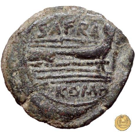 206/4 - triente Spurius Afranius 150a.C. (Roma)