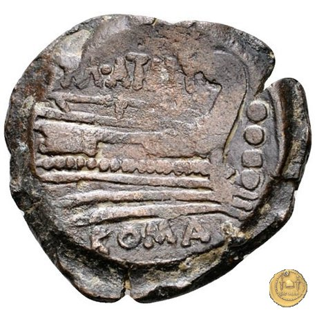 214/4 - triente M. Atilius Saranus 148a.C. (Roma)