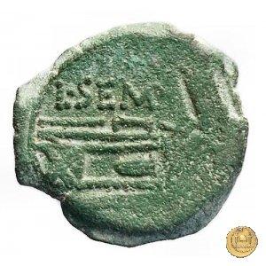 216/5 - quadrante L. Sempronius Pitio 148a.C. (Roma)