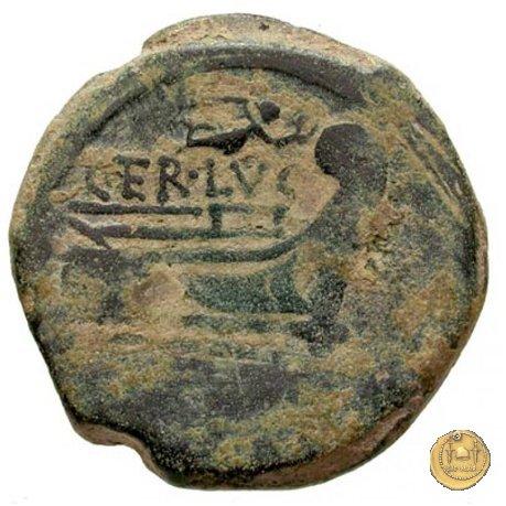 217/2 - asse C. Terentius Lucanus 147a.C. (Roma)
