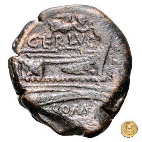 217/5 - quadrante C. Terentius Lucanus 147a.C. (Roma)