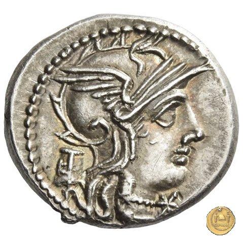 245/1 - denario M. Marcius Mn.f. 134a.C. (Roma)