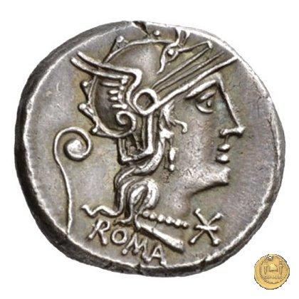 264/1 - denario C. Servilius Vatia 127BC (Roma)
