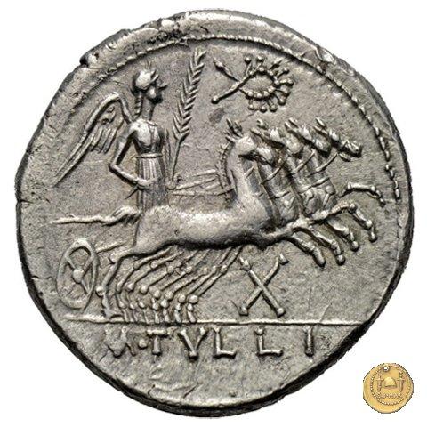 280/1 - denario M. Tullius 120BC (Roma)