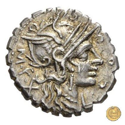 282/2 - denario L. Cosconius M.f. 118BC (Narbo)