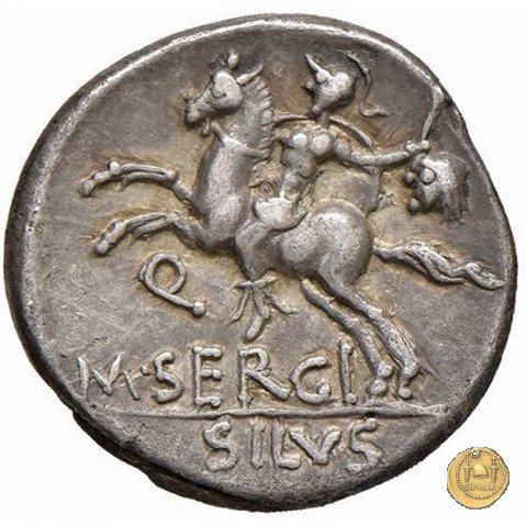 286/1 - denario M. Sergius Silus 116-115a.C. (Roma)