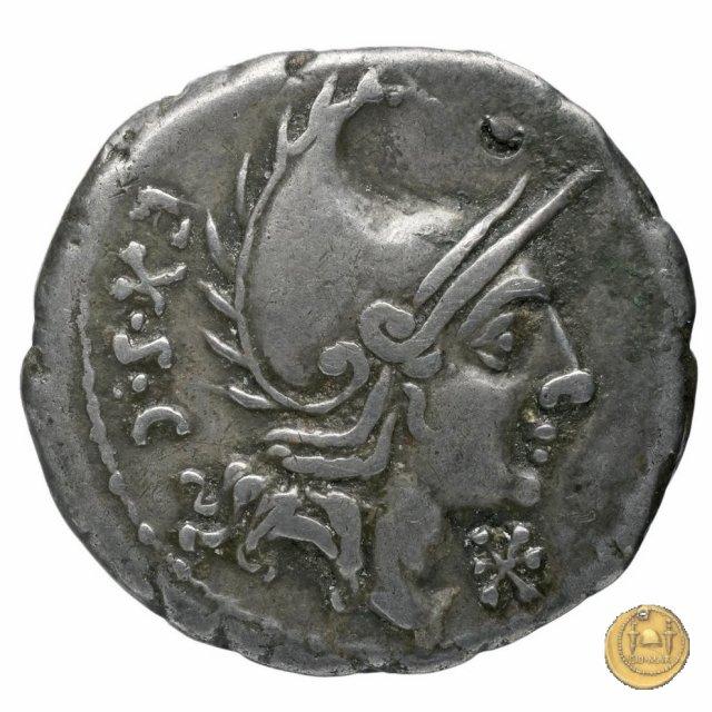 288/1 - denario P. Cornelius Cetegus 115-114BC (Roma)