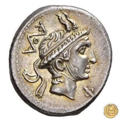 293/1 - denario L. Marcius Q.f.Q.n. Philippus 113-112BC (Roma)