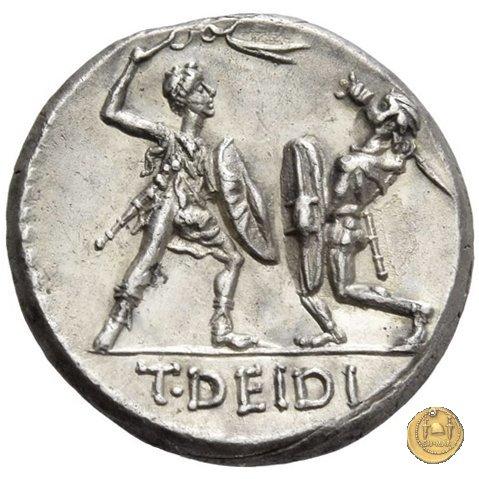 294/1 - denario T. Deidius 113-112BC (Roma)