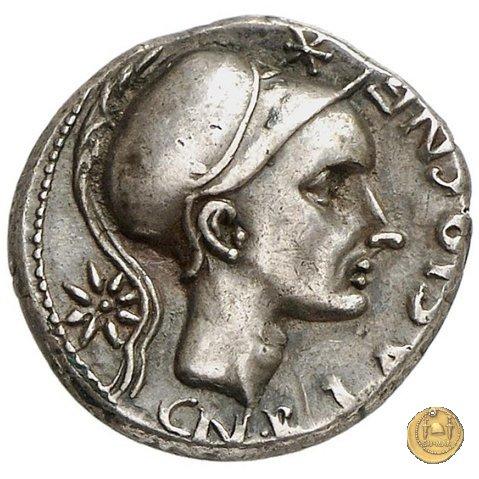 296/1 - denario Cn. Cornelius Blasio 112-111BC (Roma)
