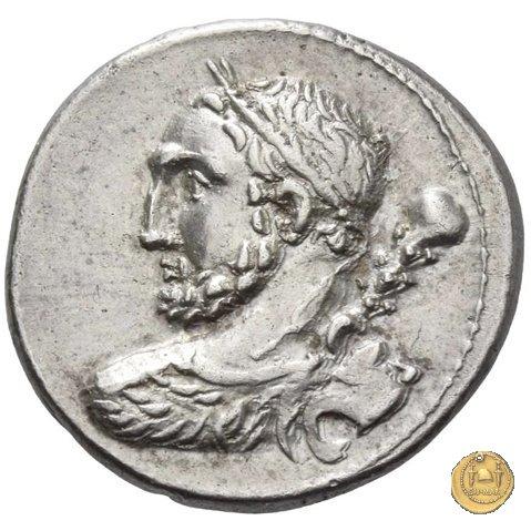 297/1 - denario Ti. Quinctius 112-111BC (Roma)