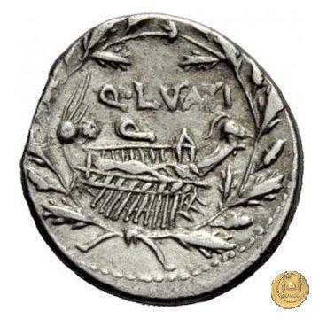 305/1 - denario Q. Lutatius Cerco 109-108BC (Roma)