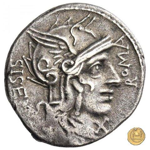 310/1 - denario Cn. Cornelius L.f. Sisenna 118-107BC (Roma)