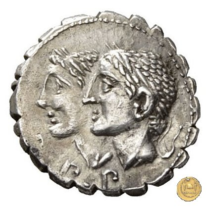 312/1 - denario C. Sulpicius C.f. 106BC (Roma)