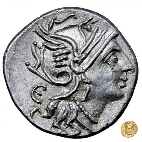 327/1 - denario M. Servilius C.f. 100BC (Roma)