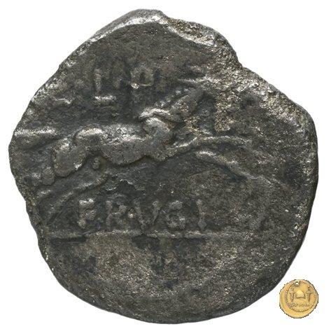 340/3 - sesterzio L. Calpurnius Piso Frugi 90a.C. (Roma)