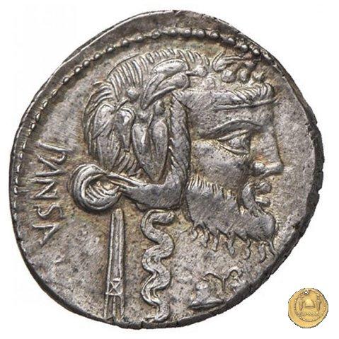 342/1 - denario C. Vibius C.f. Pansa 90BC (Roma)