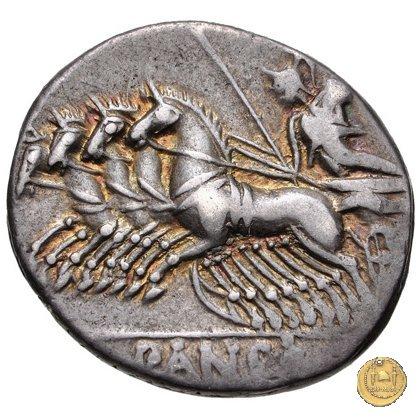 342/6 - denario C. Vibius C.f. Pansa 90BC (Roma)