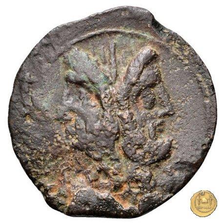 342/7 - asse C. Vibius C.f. Pansa 90a.C. (Roma)