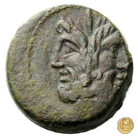 350A/3 - asse M. Vergilius / C. Gargonius (Gargilius) / Ogulnius 86BC (Roma)