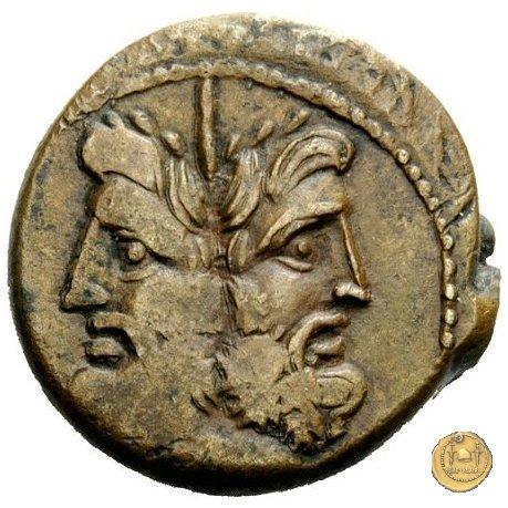 350A/3 - asse Ogulnius / C. Gargonius (Gargilius) / M. Vergilius 86BC (Roma)