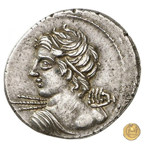 354/1 - denario C. Licinius L.f. Macer 84BC (Roma)