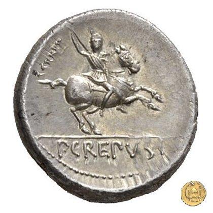361/1 - denario Pub. Crepusius 82BC (Roma)