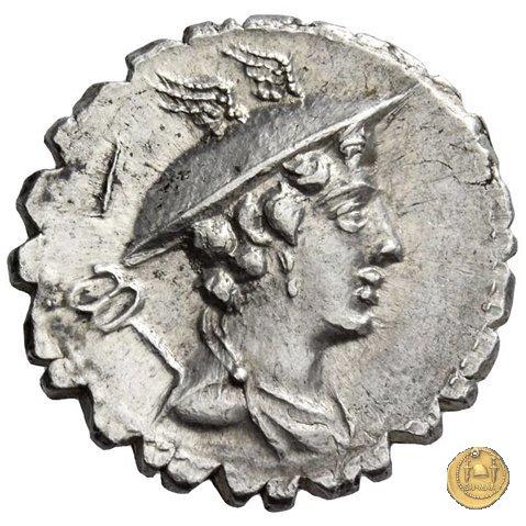 362/1 - denario C. Mamilius Limetanus 82BC (Roma)