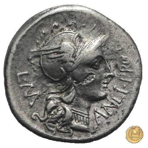367/1 - denario L. Manlius L.f. Torquatus / L. Cornelius Sulla Felix 82BC (Itinerante con Silla)