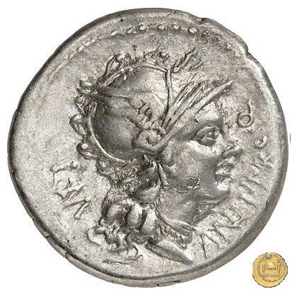 367/1 - denario L. Manlius L.f. Torquatus / L. Cornelius Sulla Felix 82a.C. (Itinerante con Silla)