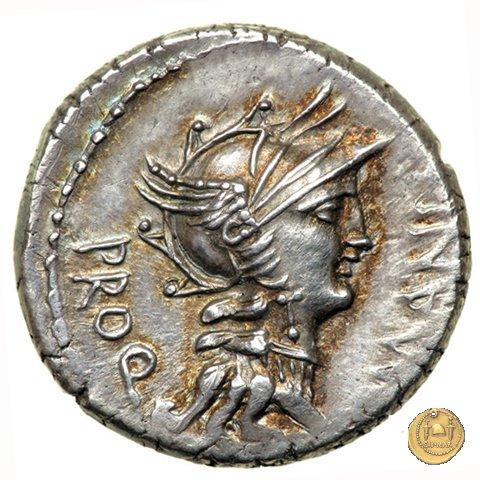 367/5 - denario L. Manlius L.f. Torquatus / L. Cornelius Sulla Felix 82BC (Itinerante con Silla)