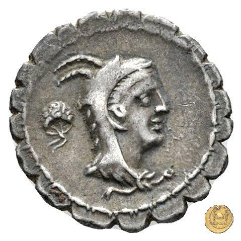 384/1 - denario L. Papius 79a.C. (Roma)