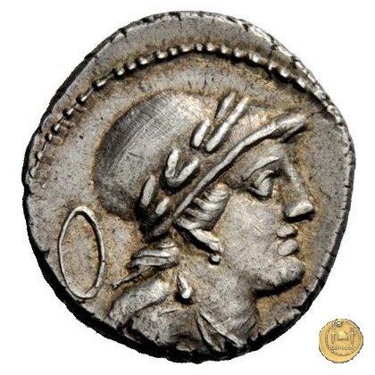 385/4 - denario M. Volteius M.f. 78BC (Roma)