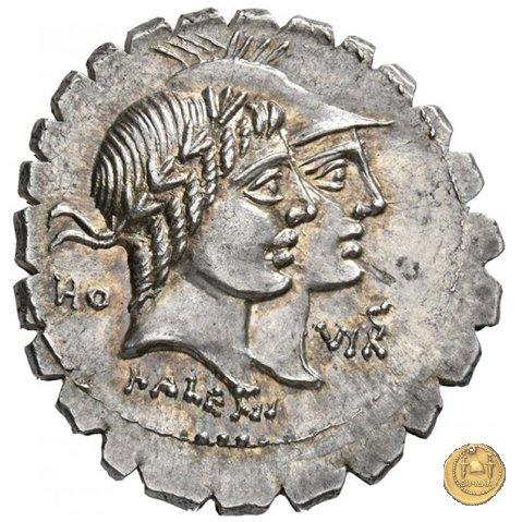 403/1 - denario Q. Fufius Calenus / P. Mucius Cordus 70a.C. (Roma)