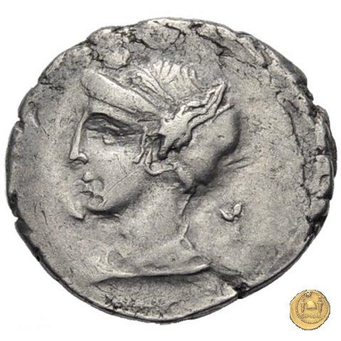 405/1 - denario M. Plaetorius M.f. Cestianus 69a.C. (Roma)