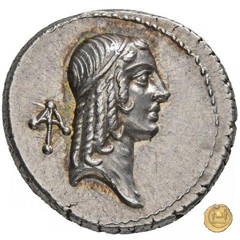 408/1 - denario C. Calpurnius Piso L.f. Frugi 67a.C. (Roma)